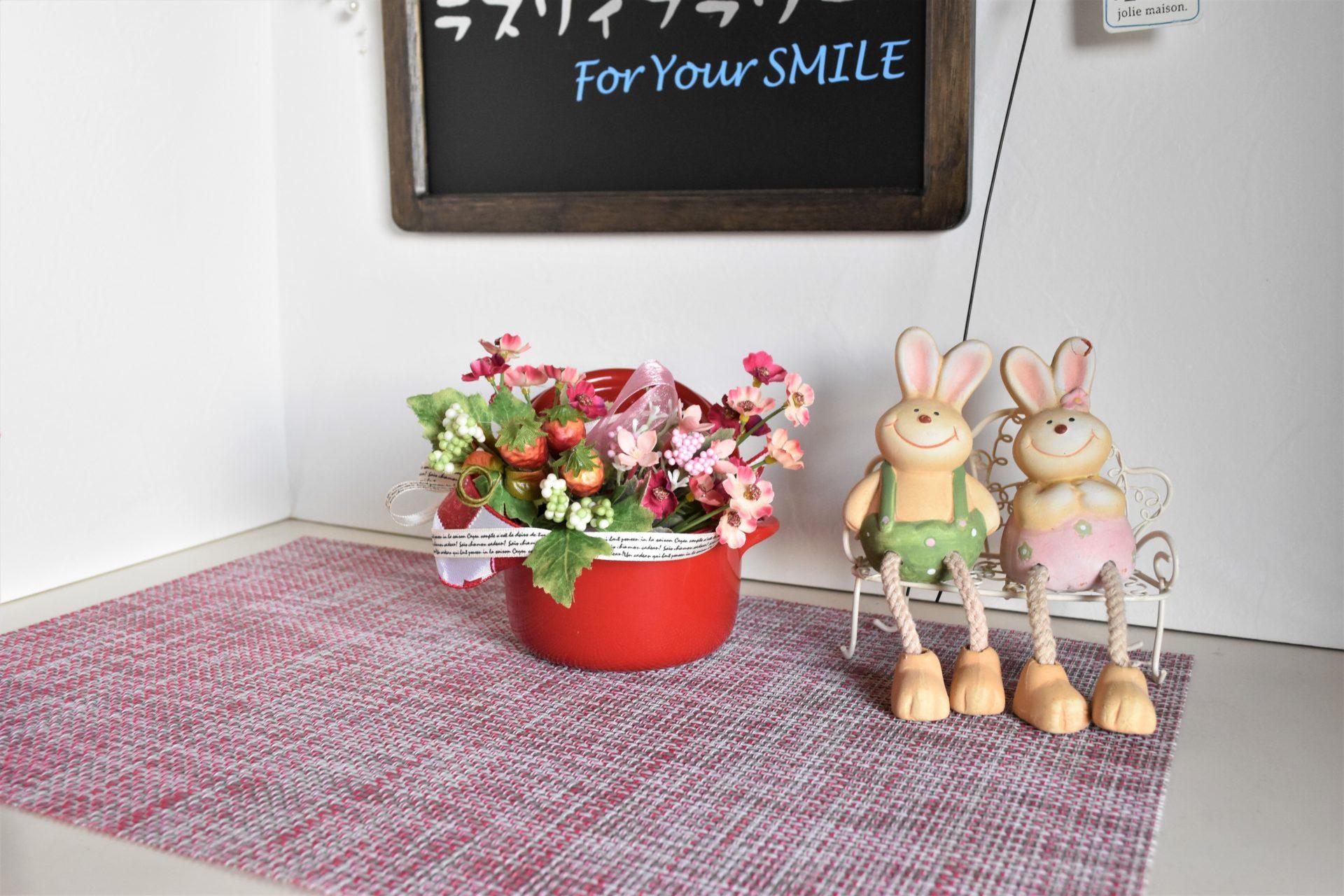 玄関に花を飾るくらしで手に入れよう!